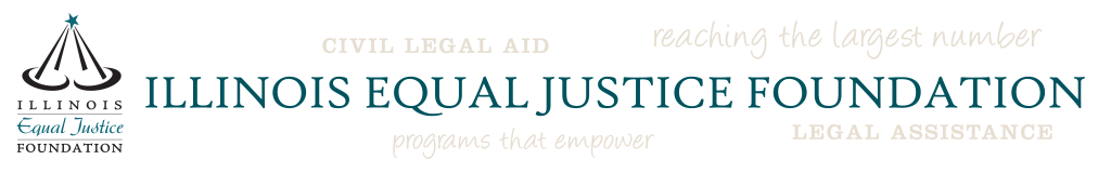 Illinois Equal Justice Foundation Logo